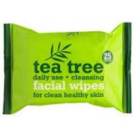 Xpel tea tree and peppermint face wipes (Code 3201)